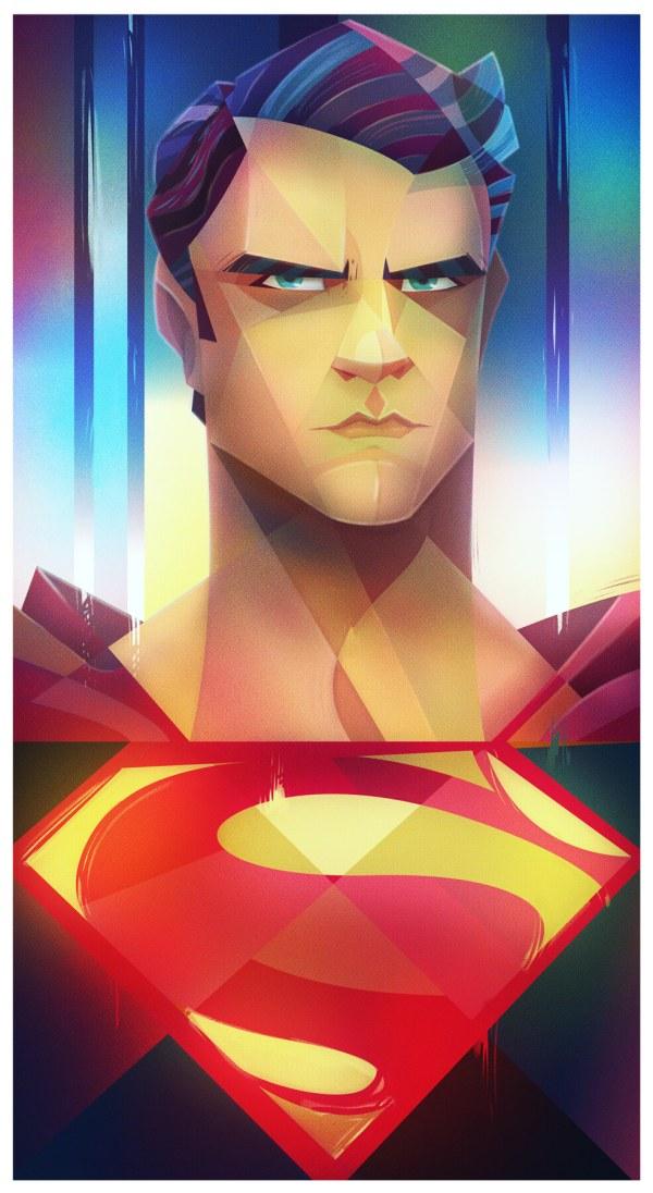 Illustrations Digital Super Man