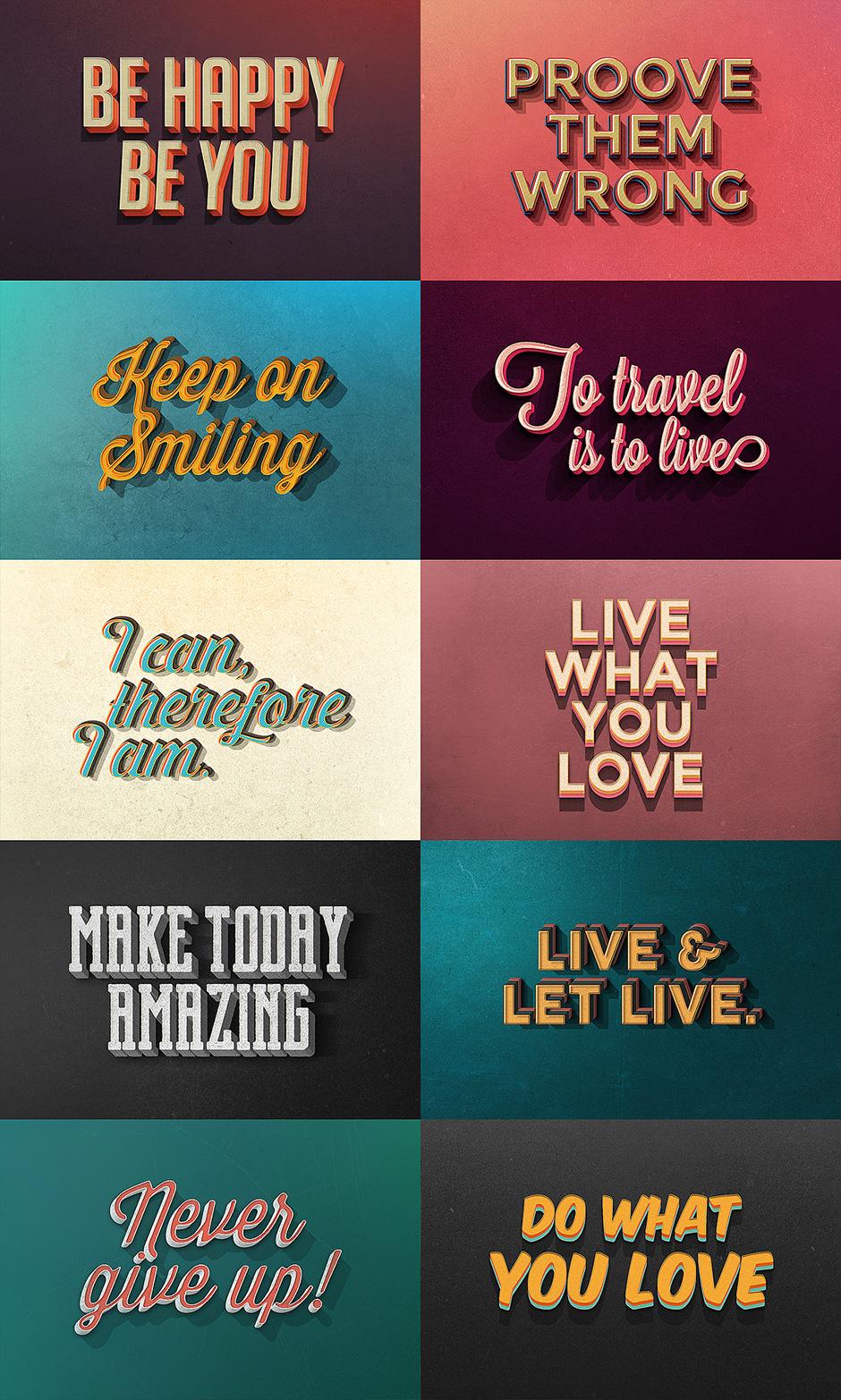 Efek Tulisan Photoshop Keren : tulisan, photoshop, keren, Effect, Downloads, Simply, Awesome