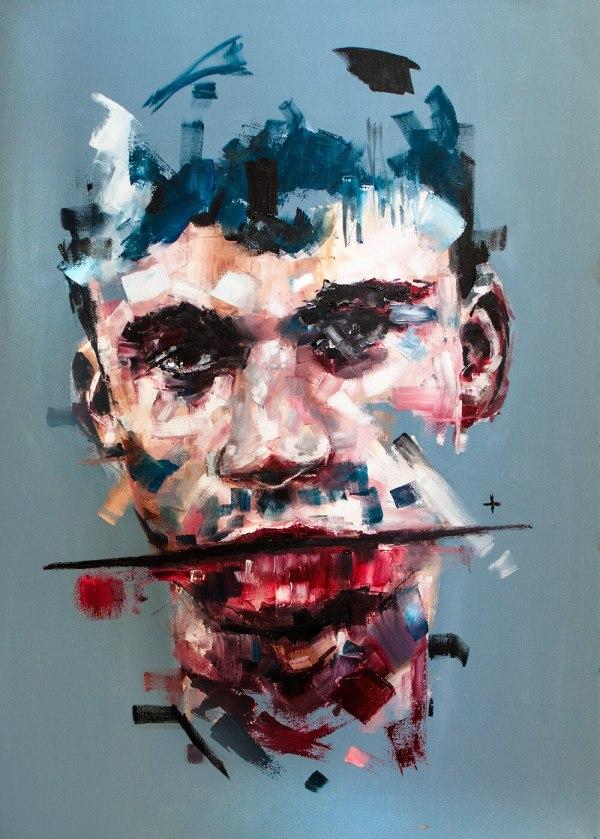 Unique Oil Paintings Davide Cambria