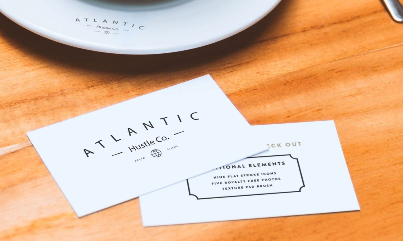 16 Free PSD Business Card Mock Ups for you to Download