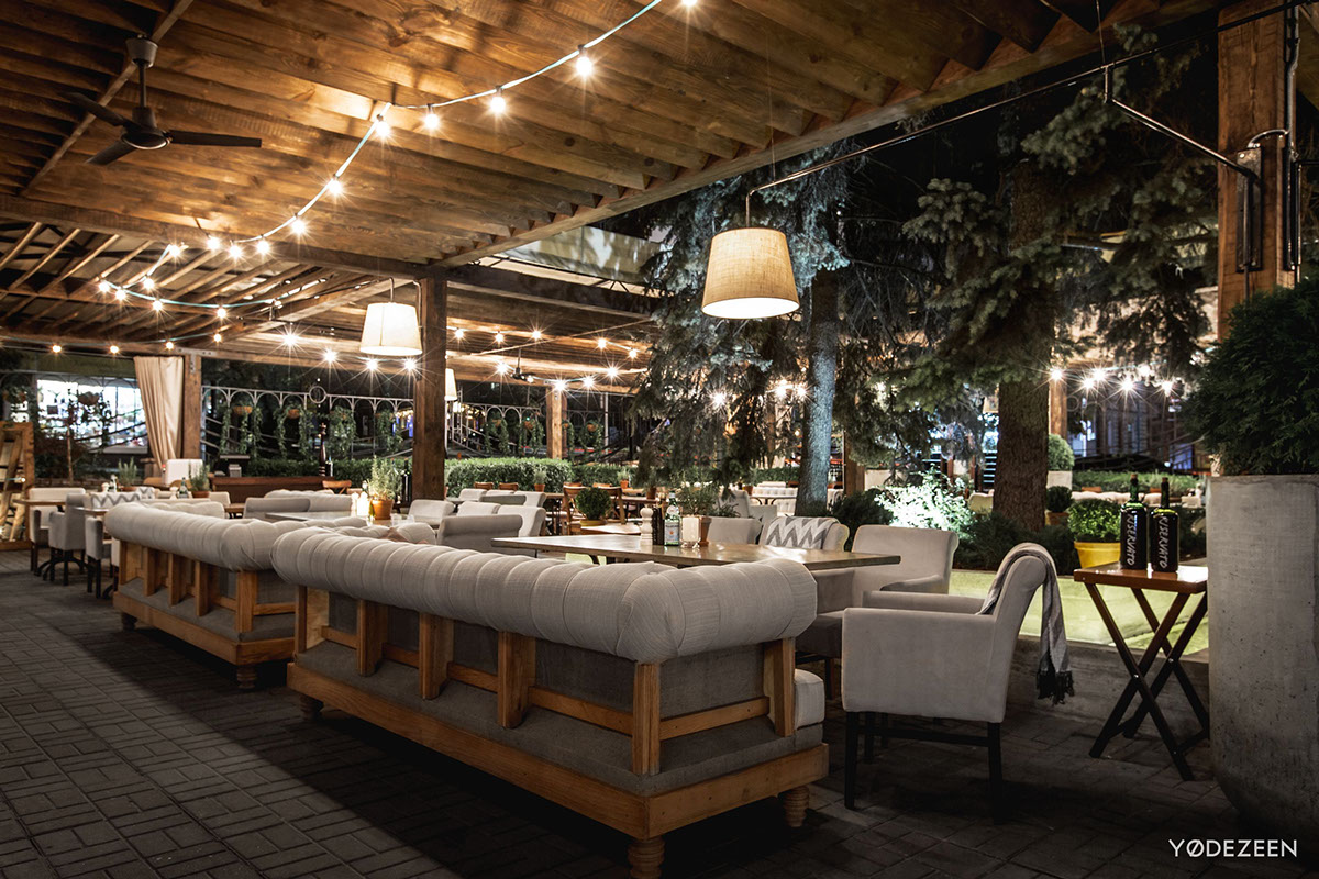 Vino e cucina creates a country estate atmosphere in the heart of the metropolis  Inspirationist