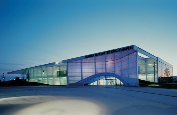 Dornier Museum Friedrichshafen Translucent And Curved Facades Inspirationist