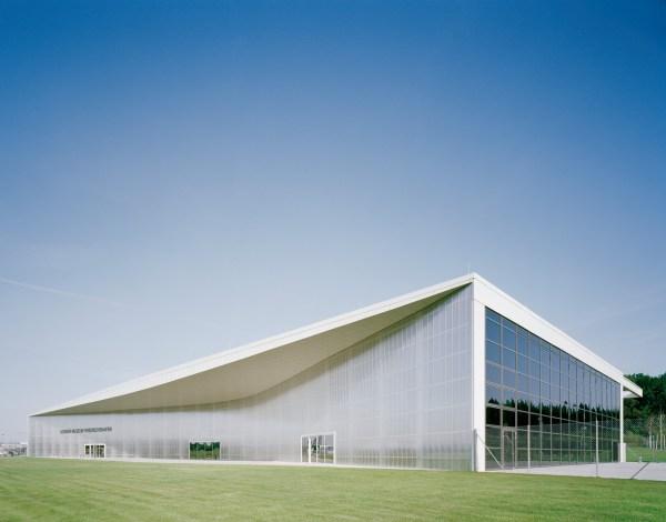 Dornier Museum Friedrichshafen Translucent And Curved