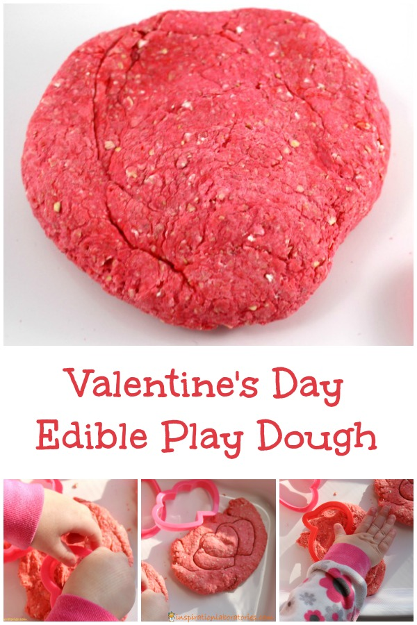 Valentines Day Edible Play Dough Inspiration Laboratories