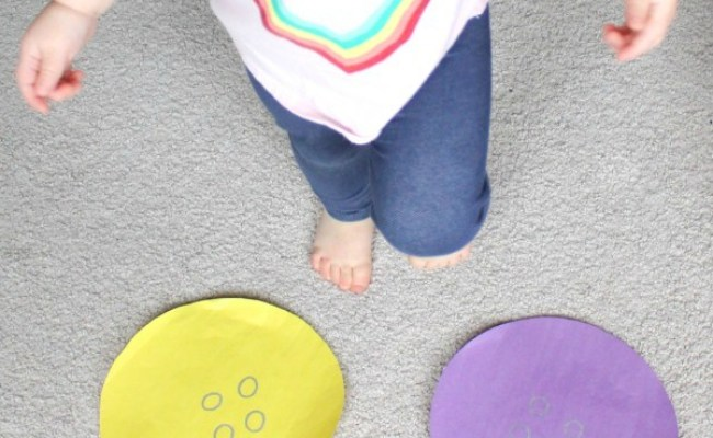 Button Hop A Movement Game For Toddlers Inspiration