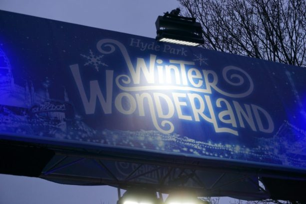 Winter Wonderland, Hyde Park London - Entree