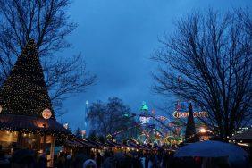 Winter Wonderland, Hyde Park London - Overzicht Kermis