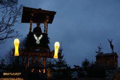 Winter Wonderland, Hyde Park London - Bovenkant kroegje op de kermis