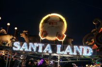 Winter Wonderland, Hyde Park London - Santa Land