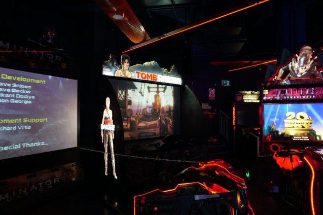 Namco funscape - Tomb Raider