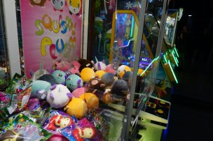 Namco funscape - Grijpmachines met knuffels & Pacman