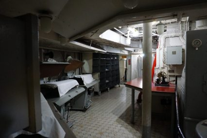 HMS Belfast London - Washok