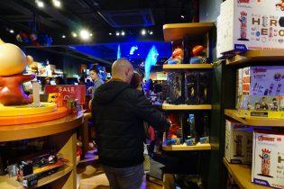 Disney store London Oxford Street - Marvel & Toy Story