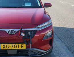 Hyundai Kona - Opladen bij het Pitpoint punt