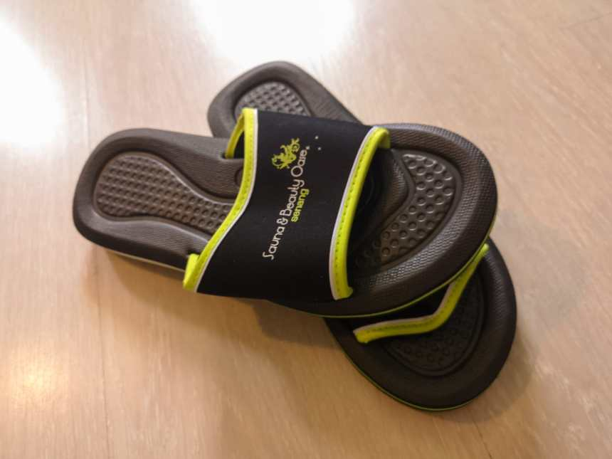 Sauna en Beauty Oase - Slippers