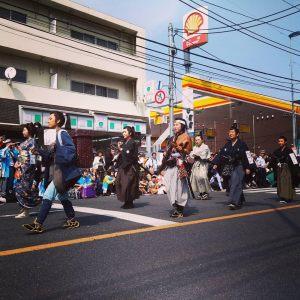 Shinsengumi festival