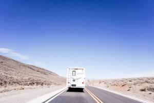 On the road - Kamperen