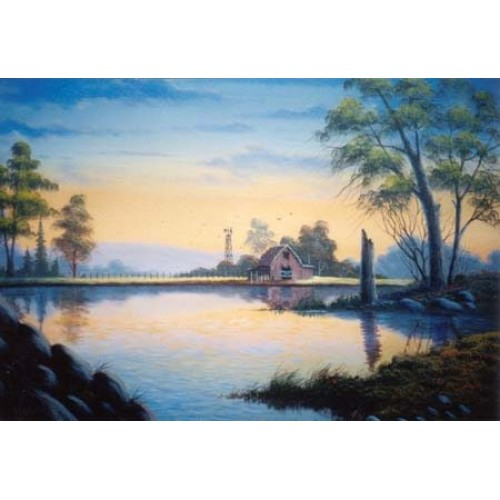 8801 BEGINNING ACRYLIC PAINTING LESSONS