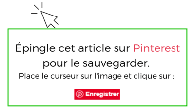 épingle cet article sur Pinterest