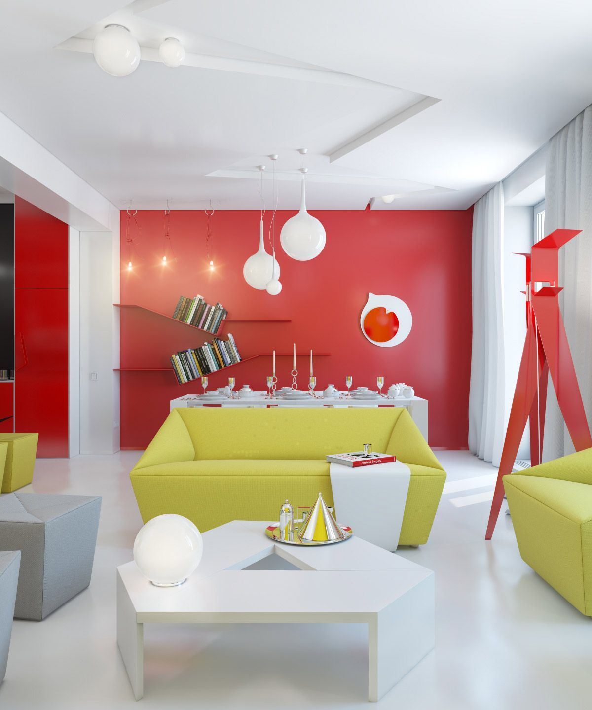 Colorful Apartment Interior Design And Ideas