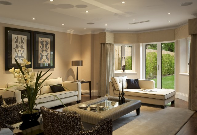 Make The Living Room Design Become More Comfortable ...