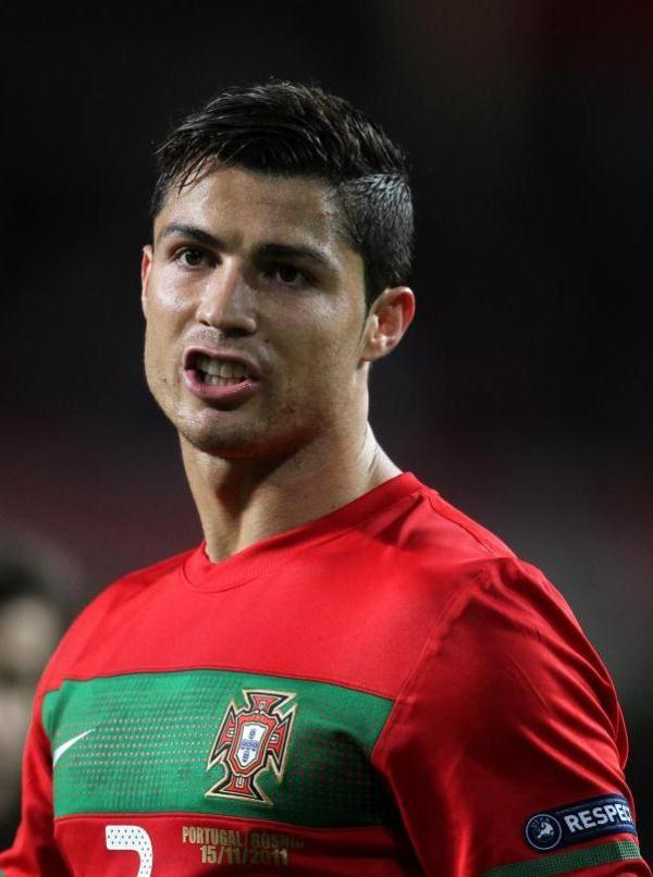 Cristiano Ronaldo 2012 Hairstyle Spieler Bild Idee