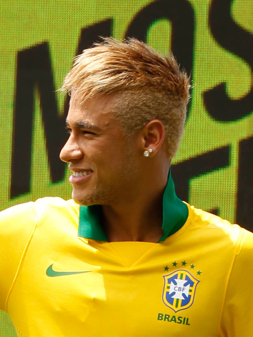 30 Neymar Hairstyles Pictures And Tutorial From Year To Year