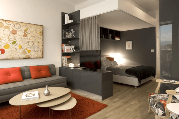 small living room design Small Living Room Ideas in Small House Design - InspirationSeek.com