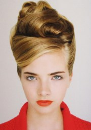 retro hairstyle ideas women
