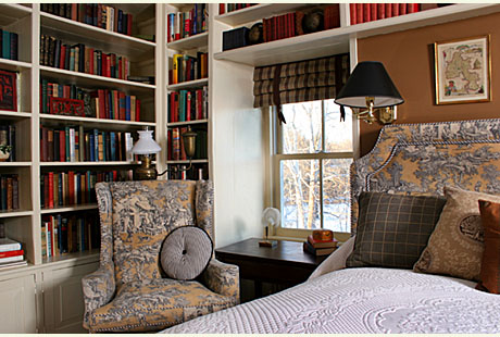 Small Library Design Ideas in The Bedroom