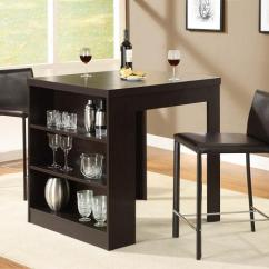Black Square Pub Table And Chairs Barber For Sale In Chicago 25 Small Dining Designs Spaces - Inspirationseek.com