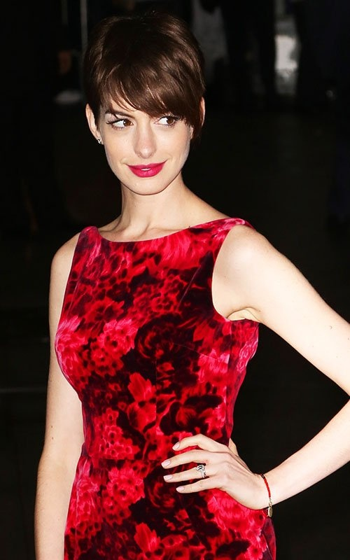 Anne Hathaway Pixie Cut Hairstyles  InspirationSeekcom