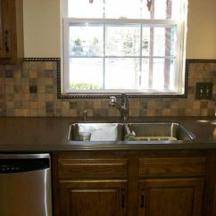 Menards Kitchen Backsplash Apartment Size Appliances Make The More Beautiful ...