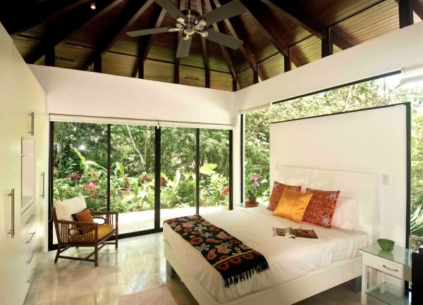 beautiful tropical bedroom design Beautiful Tropical House Design and Ideas