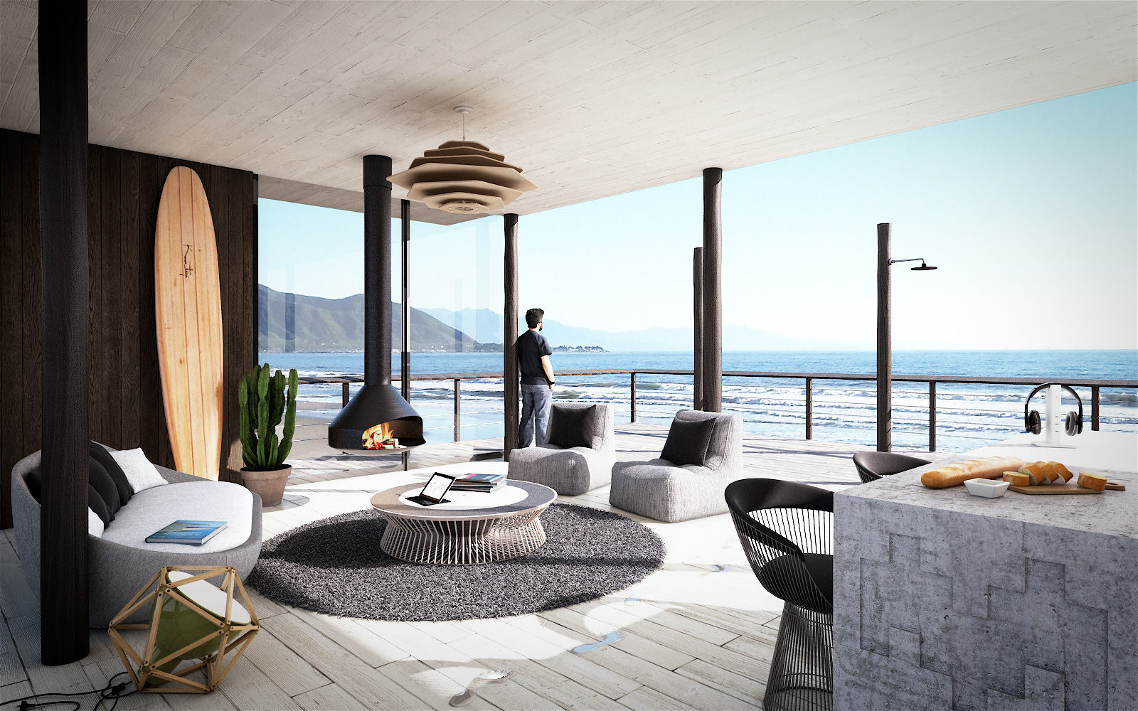 The Best Beach House Design in Britain Called The Kench  InspirationSeekcom