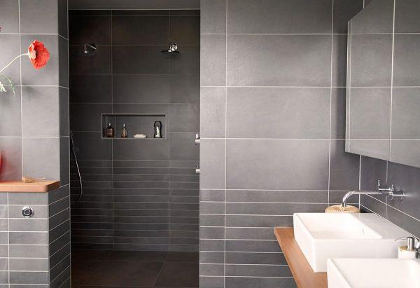 Contemporary Bathroom Shower Tile Design Ideas