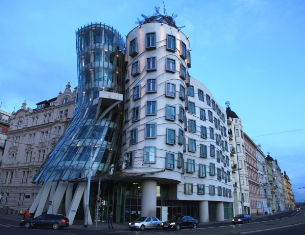 Dancing House Icon Of Prague City Czech