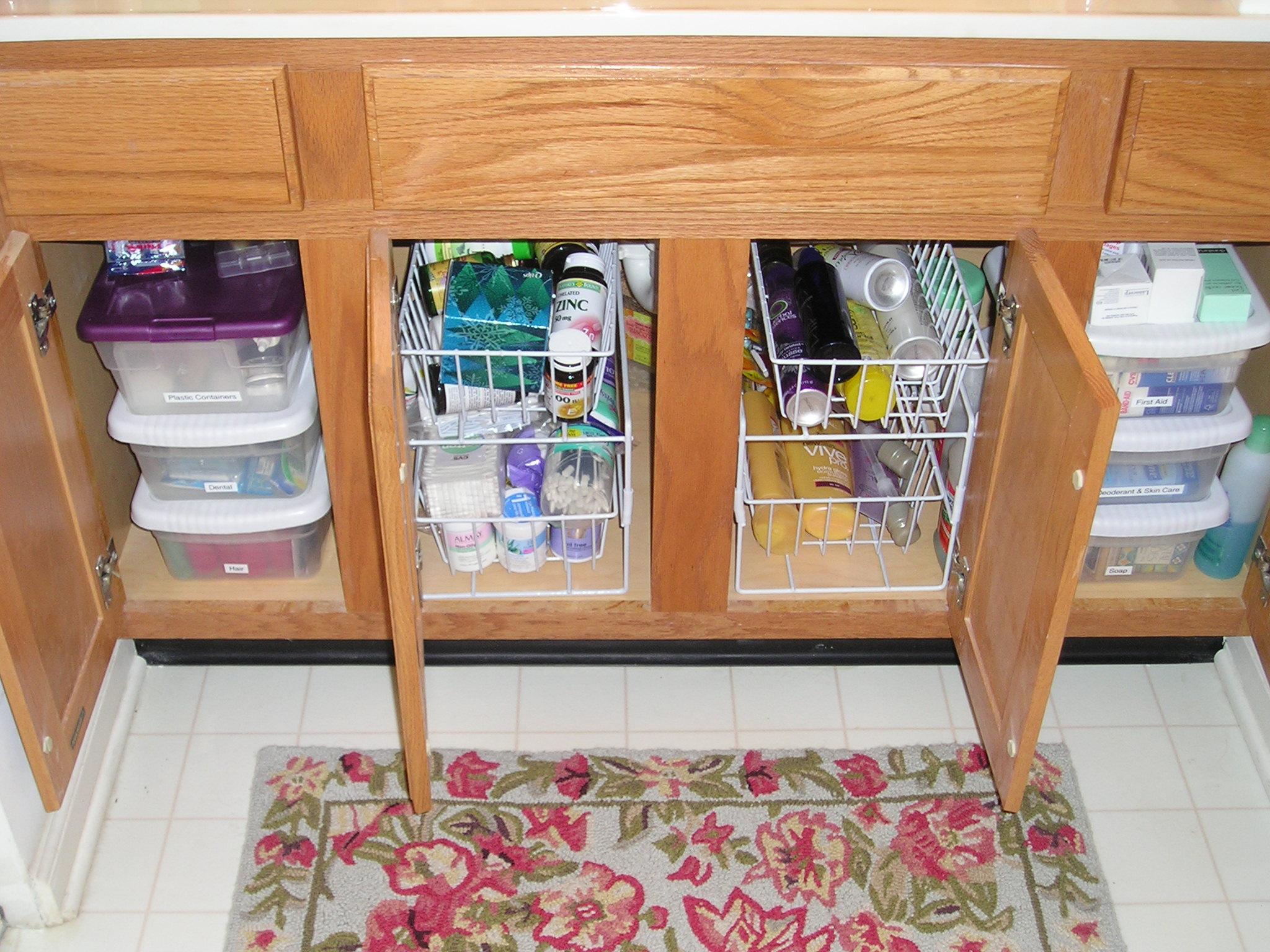 under kitchen sink storage schrock cabinets the ideas inspirationseek