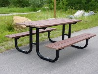 24+ Picnic Table Designs, Plans and Ideas