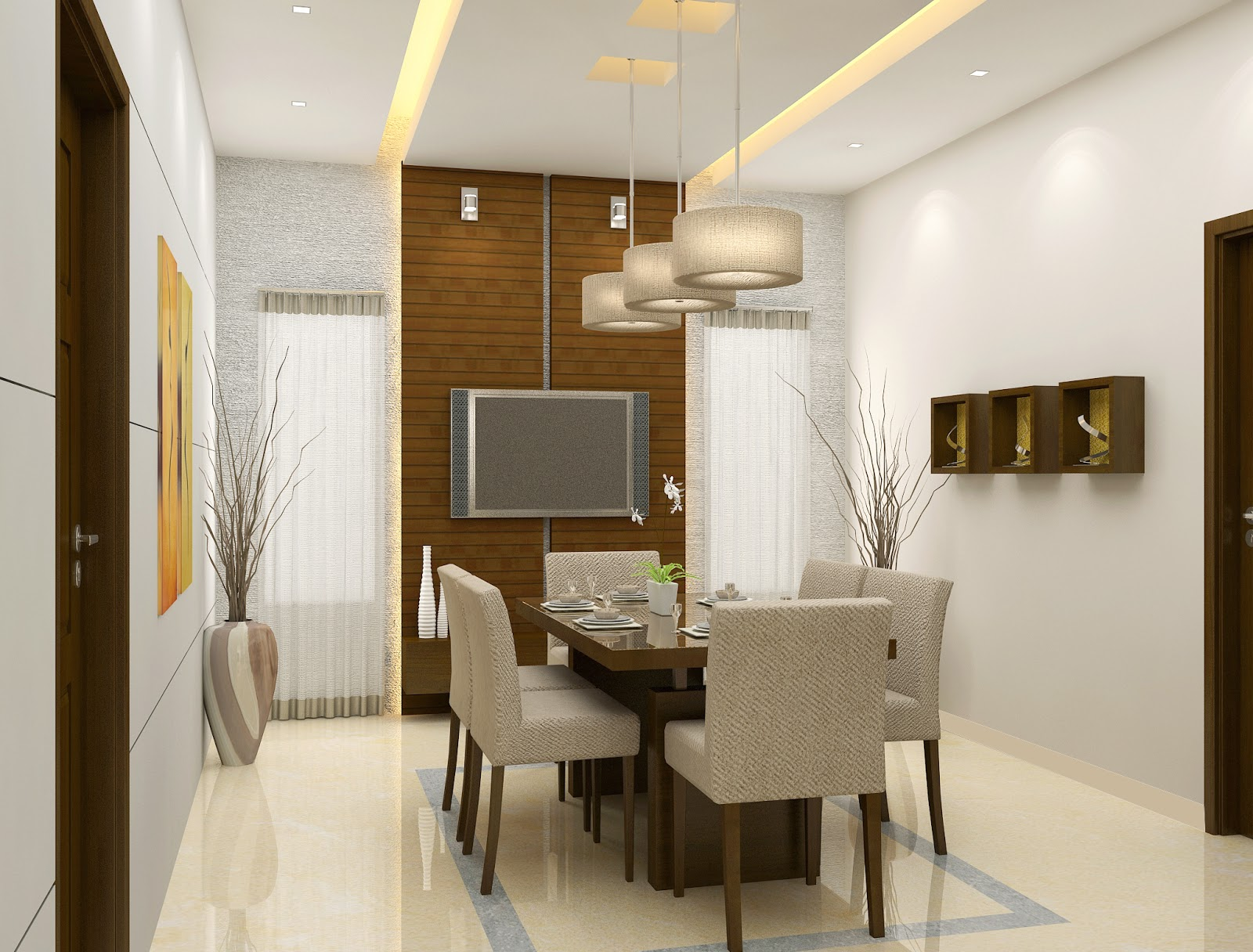 Simple Dining Room Design  InspirationSeekcom