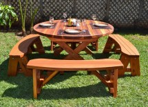 Picnic Table Design Plans And Ideas