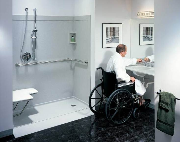 6 Tips to Design A Bathroom For Elderly  InspirationSeekcom