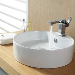 Round Kitchen Sink Building Islands 21 Ceramic Design Ideas For And Bathroom