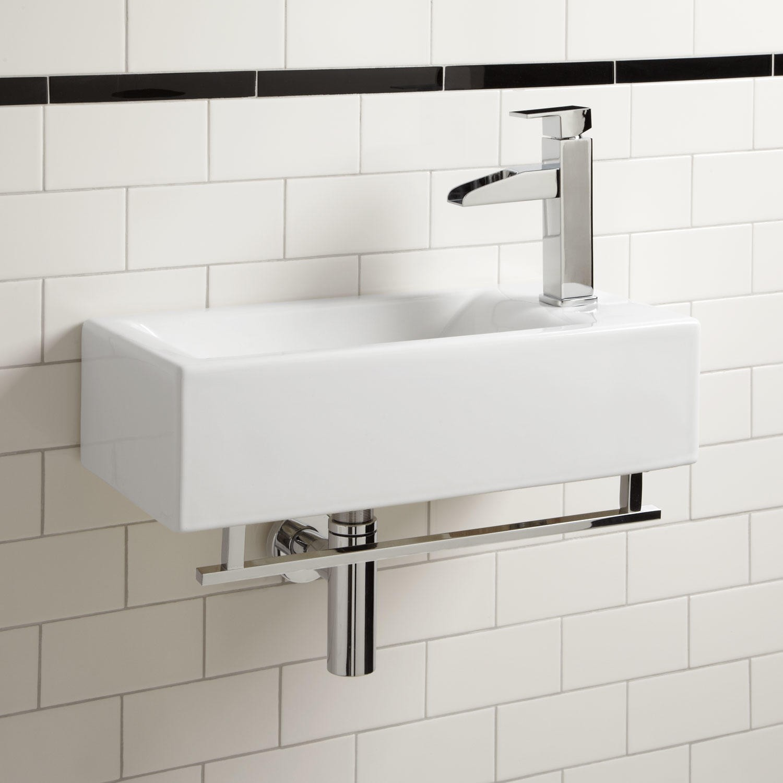wall mounted kitchen sink tile backsplash various models of bathroom inspirationseek