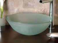 20 Glass Sink Design Ideas For Bathroom - InspirationSeek.com