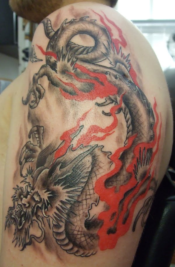 Chinese Dragon Tattoos For Men