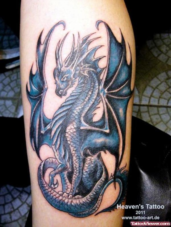 dragon tattoo design men