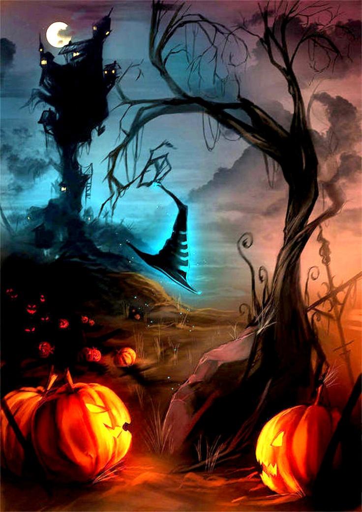 Funny Fall Wallpaper 30 Halloween Artwork Ideas Inspirationseek Com