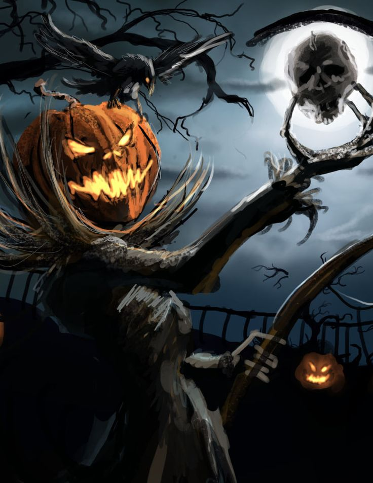 Painting Art Design Girl Wallpaper 30 Halloween Artwork Ideas Inspirationseek Com