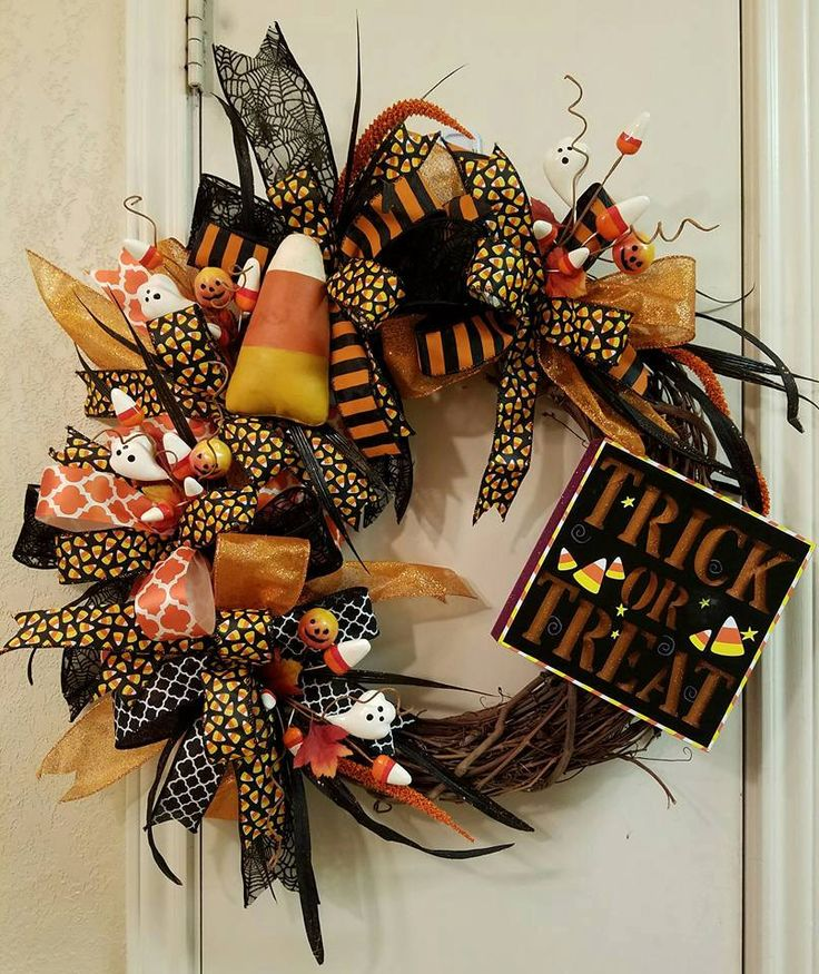 57 Halloween Wreath Ideas